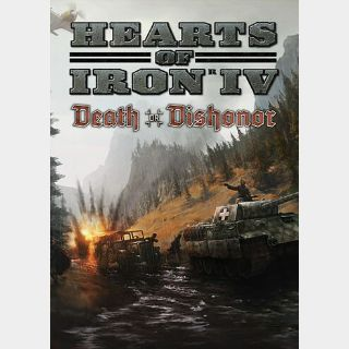 Hearts of Iron IV: Death or Dishonor (DLC) Uncut Steam Key GLOBAL