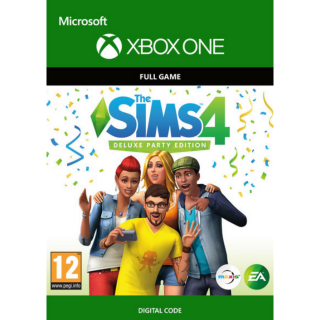 The Sims 4 Deluxe Party Edition XBOX ONE Key GLOBAL