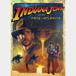 Indiana Jones and the Fate of Atlantis (PC) Steam Key GLOBAL