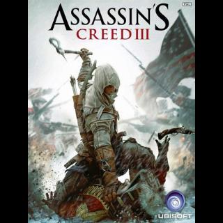 Assassin's Creed III Uplay Key GLOBAL