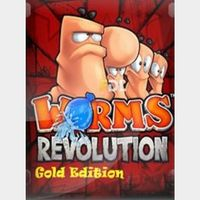 Worms Revolution Gold Edition Steam Key GLOBAL
