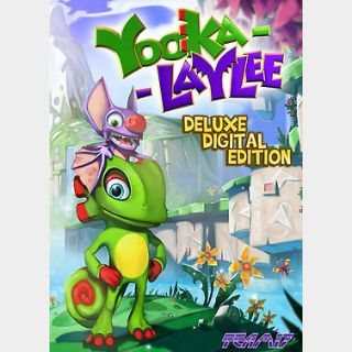 Yooka-Laylee Deluxe Edition (PC) Steam Key GLOBAL