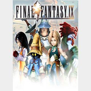 Final Fantasy IX (PC) Steam Key GLOBAL