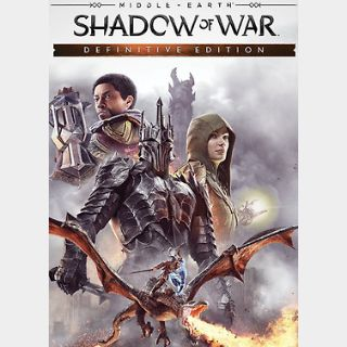Middle-earth: Shadow of War Definitive Edition (PC) Steam Key GLOBAL