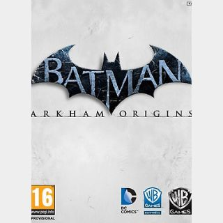 Batman: Arkham Origins (PC) Steam Key GLOBAL