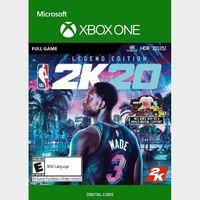 NBA 2K20 (Legend Edition) (Xbox One) Xbox Live Key GLOBAL