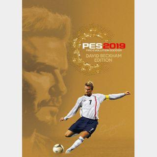 Pro Evolution Soccer 2019 - David Beckham Edition