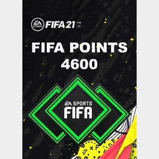 FIFA 21: 4600 FUT Points (PC) Origin Key GLOBAL