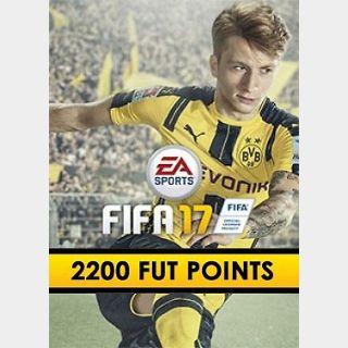 FIFA 17: 2200 FUT points (PC) Origin Key GLOBAL