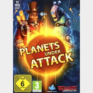 Planets Under Attack (PC) Steam Key GLOBAL
