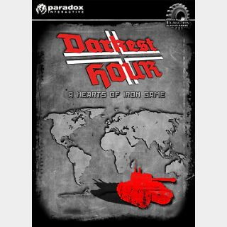 Darkest Hour: A Hearts of Iron Game (PC) Steam Key GLOBAL