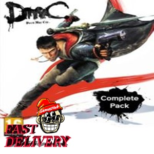DmC: Devil May Cry Complete Pack Steam Key GLOBAL