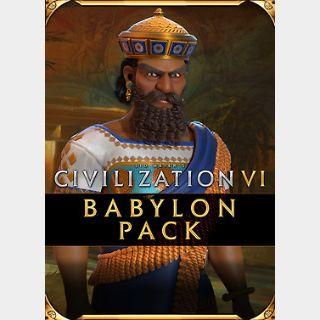 Sid Meier's Civilization VI - Babylon Pack (PC) Steam Key GLOBAL