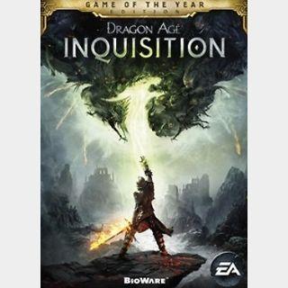 Dragon Age: Inquisition GOTY Edition (PC) Origin Key GLOBAL