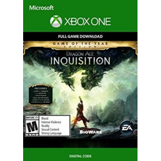 Dragon Age: Inquisition (GOTY) (Xbox One) Xbox Live Key GLOBAL