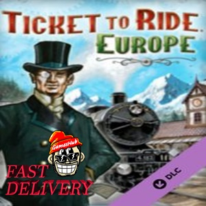 Ticket to Ride - Europe Key Steam GLOBAL