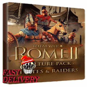 Total War: Rome II - Pirates and Raiders Steam Key GLOBAL