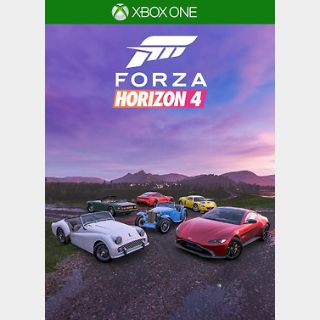 Forza Horizon 4 British Sports Cars Car Pack Xbox ONE