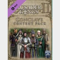 Crusader Kings II - Conclave Content Pack Steam Key GLOBAL