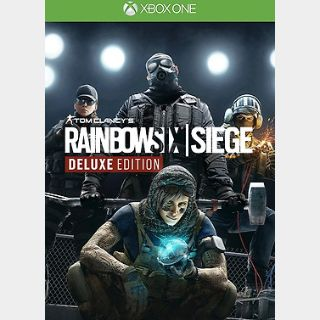 Tom Clancy's Rainbow Six Siege Deluxe Edition Xbox ONE