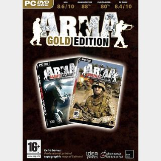 Arma Gold Edition (PC) Steam Key GLOBAL