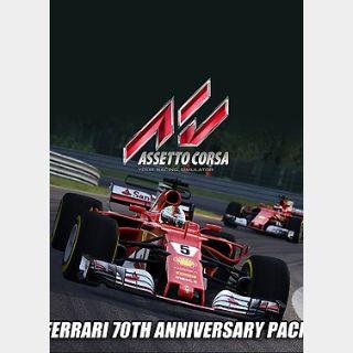 Assetto Corsa Ferrari - 70th Anniversary Pack