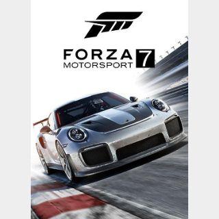Forza Motorsport 7 (PC / Xbox ONE)