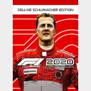 F1 2020 Deluxe Schumacher Edition (PC) Steam Key GLOBAL