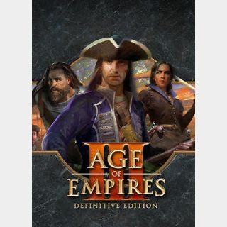 Age of Empires III: Definitive Edition (PC) Steam Key GLOBAL