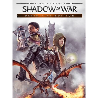Middle-earth: Shadow of War Definitive Edition Steam Key GLOBAL[Fast Delivery]