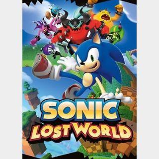 Sonic Lost World (PC) Steam Key GLOBAL