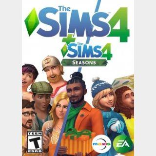 The Sims 4 + Seasons Expansion (PC) Origin Key GLOBAL