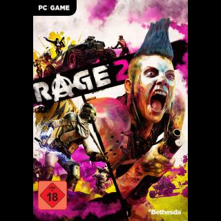 RAGE 2 Deluxe Edition Bethesda Key GLOBAL