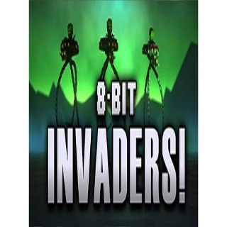 8-Bit Invaders! GOG.COM Key GLOBAL