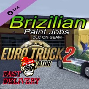 Euro Truck Simulator 2 - Brazilian Paint Jobs Pack Steam Key GLOBAL