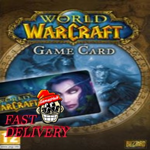 World of Warcraft Time Card 30 Days NORTH AMERICA Battle.net