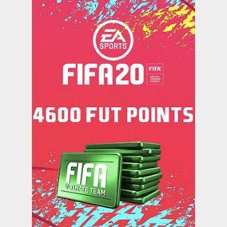 FIFA 20: 4600 FUT Points (PC) Origin Key GLOBAL