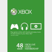 Xbox Live Gold 48-hour TRIAL Xbox Live Key GLOBAL