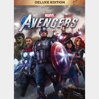 Marvel's Avengers Deluxe Edition (PC) Steam Key GLOBAL
