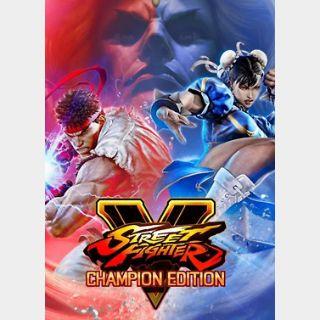 Street Fighter V: Champion Edition Upgrade Kit Bu (PC) Steam Key GLOBALndle