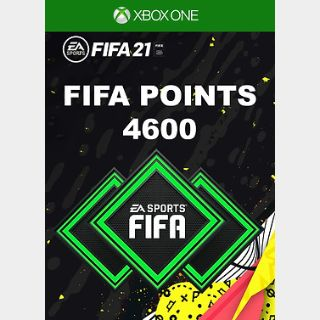 FIFA 21: 4600 FUT Points Xbox ONE