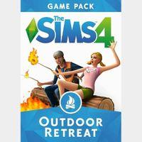 The Sims 4: Outdoor Retreat (DLC) Origin Key GLOBAL