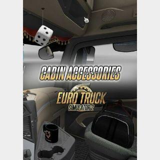 Euro Truck Simulator 2 - Cabin Accessories (DLC) Steam Key GLOBAL