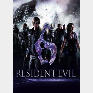 Resident Evil 6 (PC) Steam Key GLOBAL