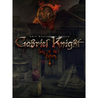 Gabriel Knight: Sins of the Fathers - 20th Anniversary Edition GOG.COM Key GLOBAL