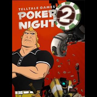 Poker Night 2 Steam Key GLOBAL
