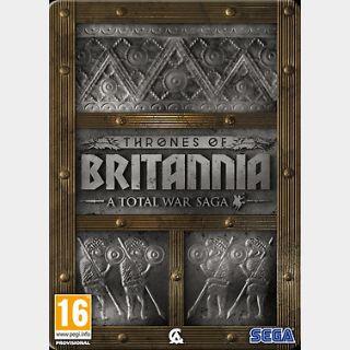 Total War Saga: Thrones of Britannia (PC) Steam Key GLOBAL