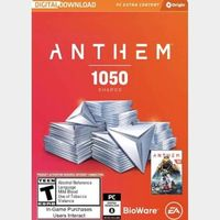 Anthem: 1050 Shards Origin Key GLOBAL