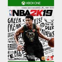 NBA 2K19 XBOX ONE Key  GLOBAL