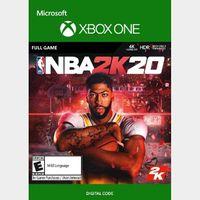 NBA 2K20 (Xbox One) Xbox Live Key GLOBAL